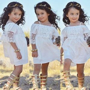 Other - Baby girl lace princess dress
